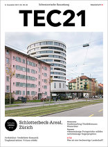 TEC21 2017|49-50 Schlotterbeck-Areal Zürich