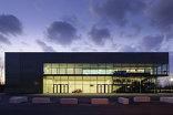 Spiel- und Sporthalle Hard, Foto: Adolf Bereuter